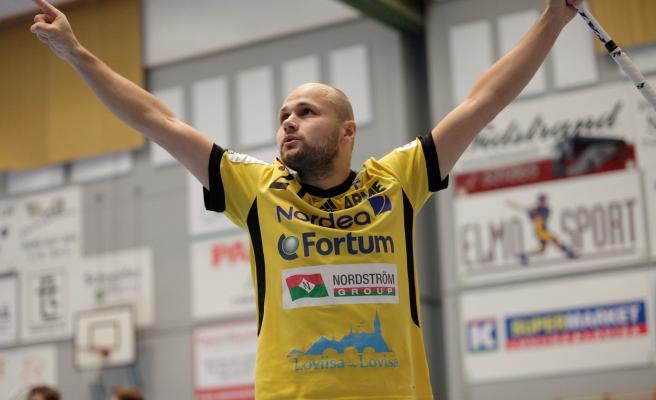 Segermålet i förlängningen sköts in av Juha Kivilehto.