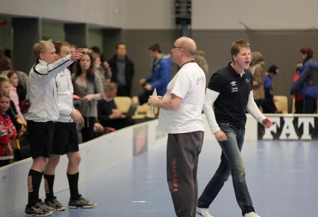Nokian Krp:s tränare Jani Blad var sur efter matchen.