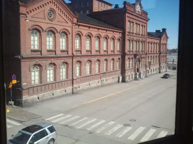 Finlands krigsmuseum på Elisabethsgatan i Kronohagen.