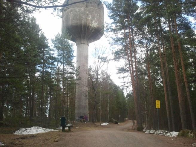 Vattentornet i Lovisa.
