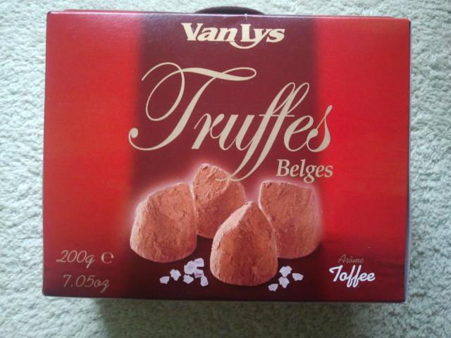 Tryffelchoklad fick jag också!