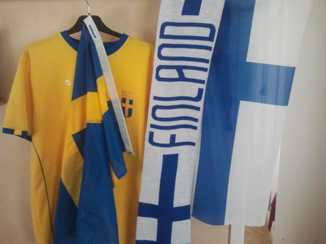 Heja Sverige och Finland!