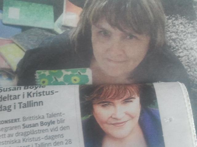 Jag och Susan Boyle, liknar vi varandra?