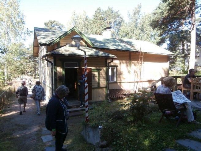 Så här ser Casa BenItalia ut från gårdssidan.