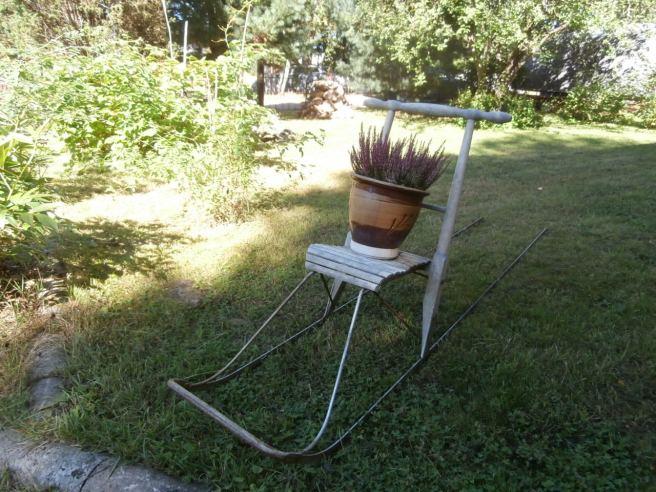 En trevlig prydnad i trädgården.