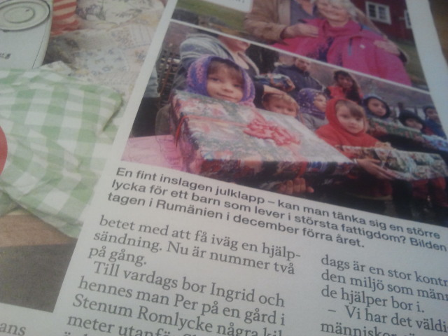 En artikel i Hemmets Journal.