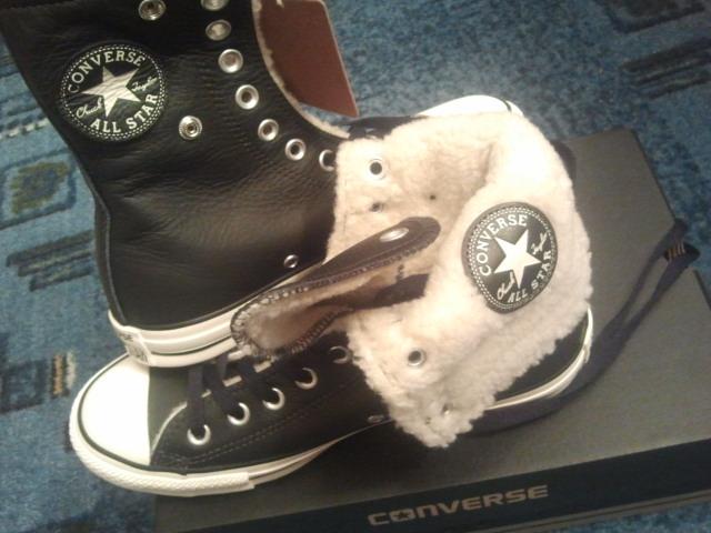 Hade inte trott om mig själv att jag någonsin skulle köpa ett par Converse, men ack så dåligt jag kände mig själv :-D