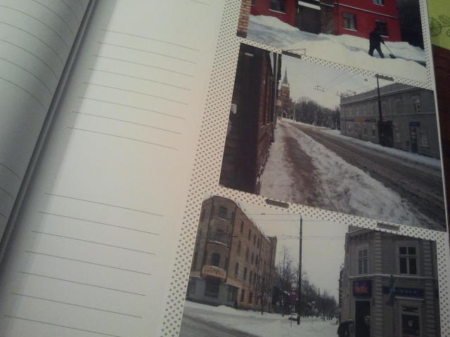 Skrev in texter i fotoalbum. De här bilderna är från Riga nyåret 2009-2010