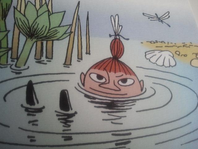 Med det här fina vykortet från Muminvärlden önskar Lilla My och jag dig en härlig fredag!