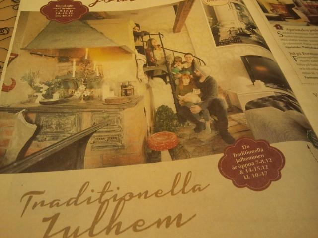 Tidningen Lovisa Jul som berättar vad som händer i december.