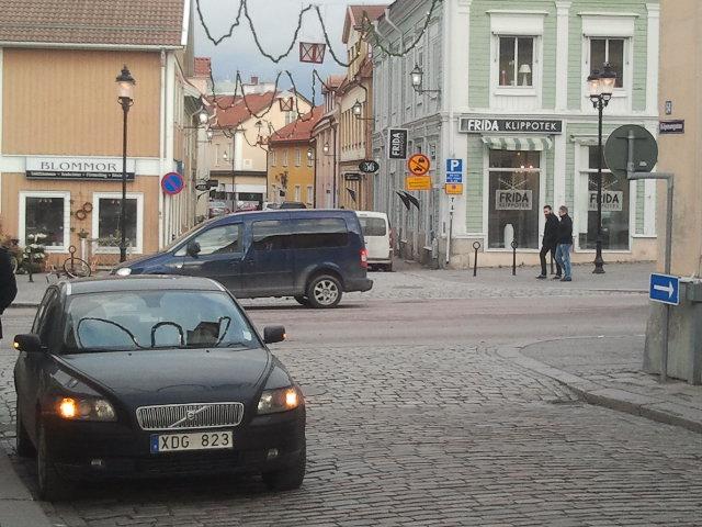 Promenaden gick vidare mot gamla stan.