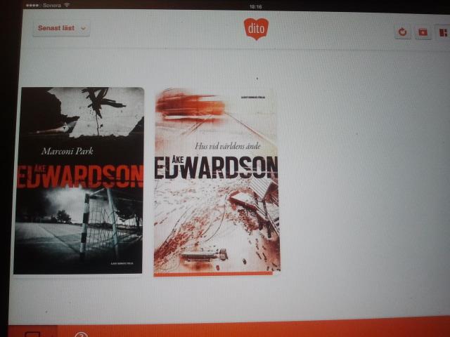 De två senaste böckerna av Åke Edwardson, tror jag.
