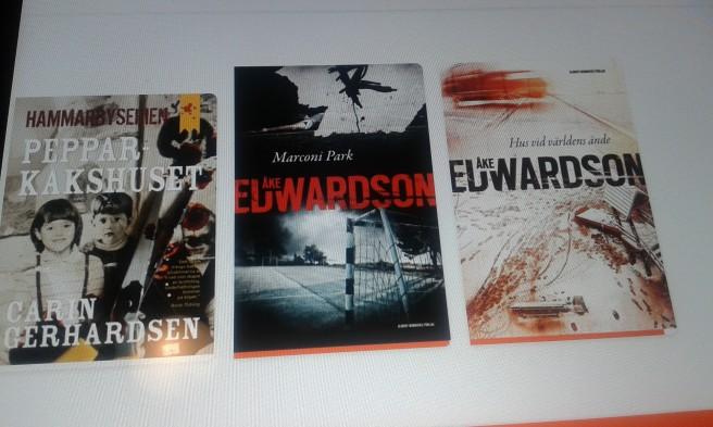 Har hittat e-böckerna och tycker de är praktiska. Men med min tredje stötte jag på nedladdningsproblem.