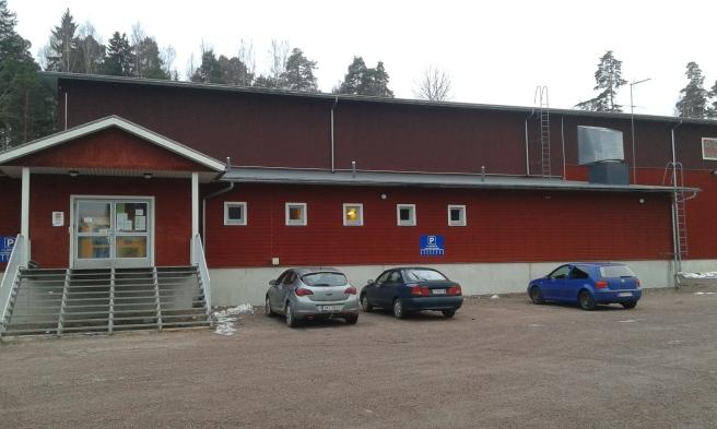 Idrottshallen i Pernå, Agricolahallen.