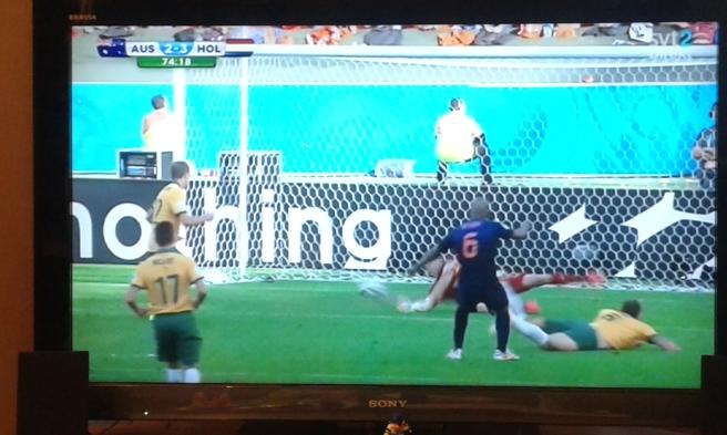 Australien-Holland VM gruppspel.