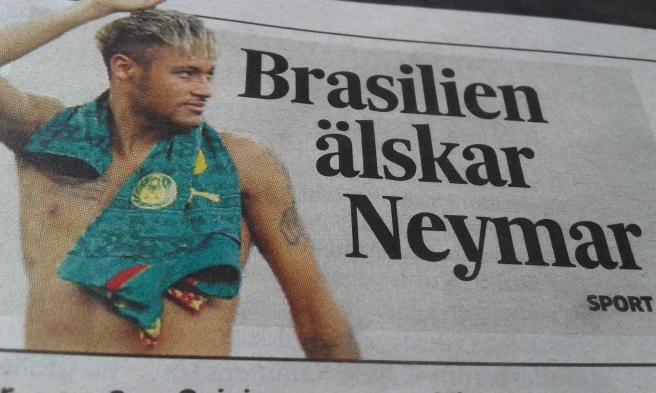 Även andra än brasilianarna har upptäckt Neymar.