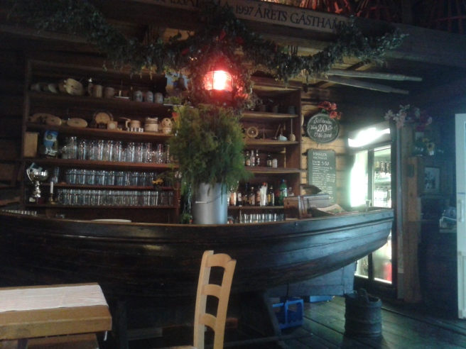 Café Saltbodan i Lovisa.