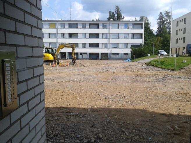Ny asfalt lär ska läggas på torsdag.
