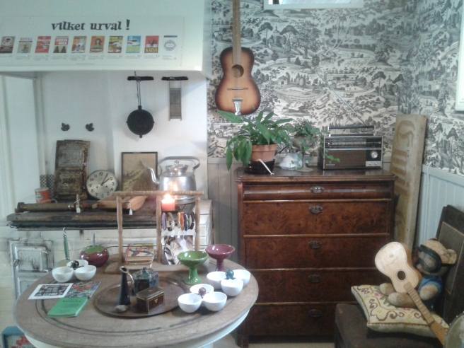 Ett helt underbart rum i den lilla affären Krinti i gamla stan.