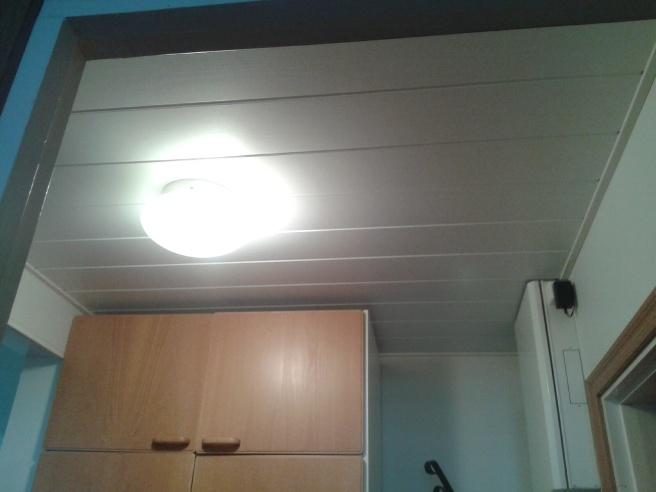 Varde ljus - äntligen belysning i hallen!