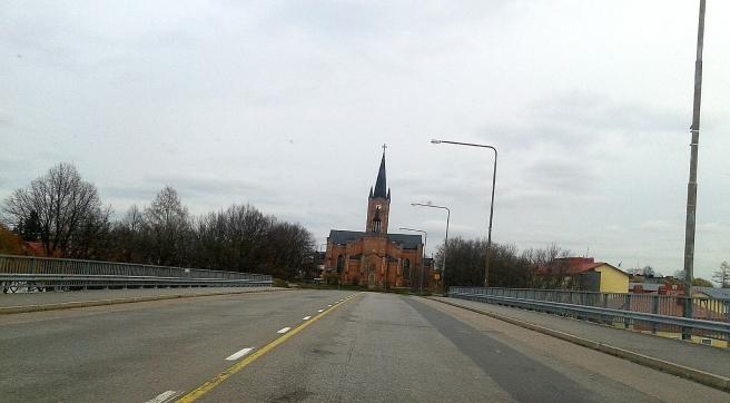 Infarten till Lovisa, välkommen till kyrkan :-)