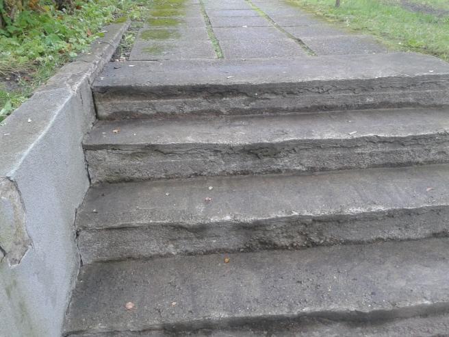 Några av trapporna som för mig till och från jobbet.