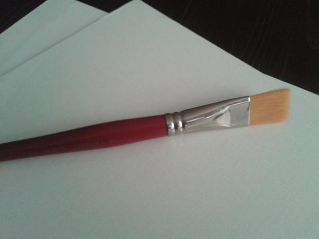 Den dyraste penseln jag nånsin köpt. Men okay, inte har jag köpt så många i mitt liv.