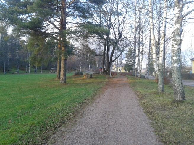 En park i närheten av Bryggeribacken.