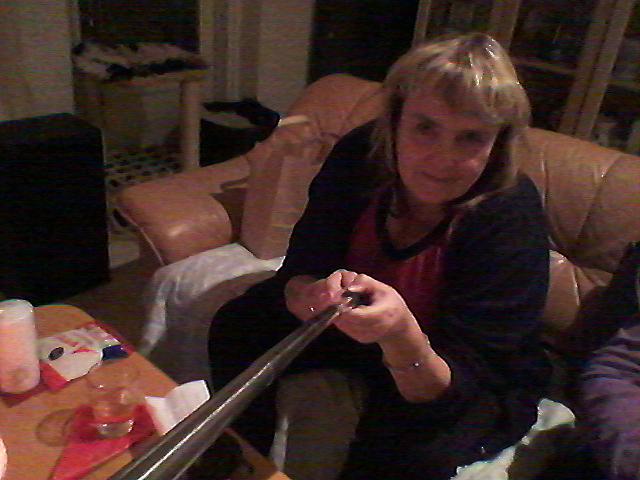 Första selfien med hjälp av stetoskop och bluetooth :-)
