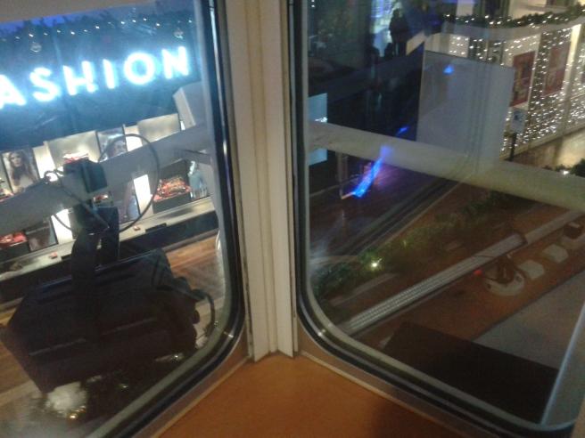 Ville kunde man sitta i fönstret och titta ner över Promenadestråket.