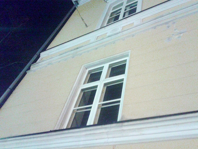 Gamla apotekshuset vid Alexandersgatan i Lovisa.