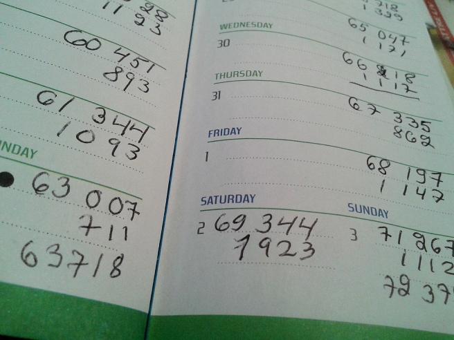 Statistiknördens anteckningar.