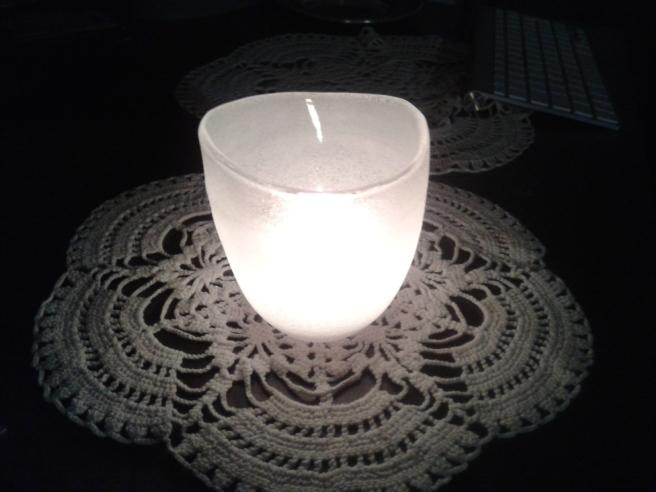 Tack Mauno och Sirja för de fina ljushållarna <3