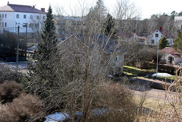 En snöfläck med på den här bilden också :-)