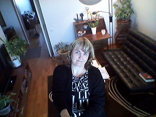 Selfiepinnen är åter i bruk då det finns någon att skicka foton till :-)