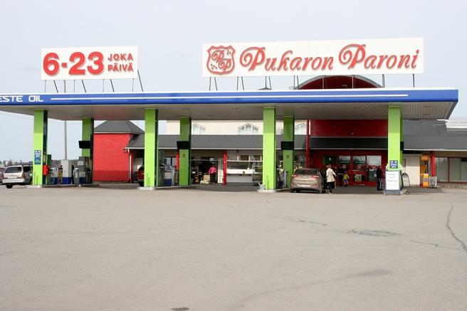 Pukaron Paroni - ett litet köpcenter i Lappträsk.