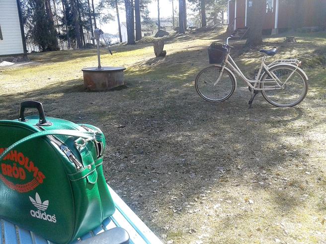 Första besöket på Kretsgången den här våren.