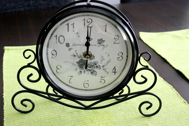 Den här klockan flyttade in hos mig i dag.