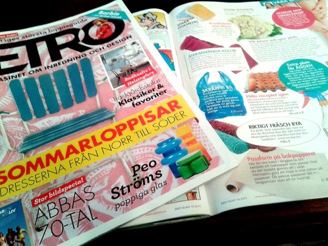 Tidningar ger mig gott sällskap, inspiration, ibland glädje, ibland aha-upplevelser.