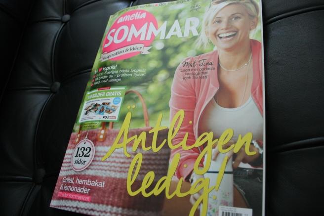 Inte ofta jag köper veckotidningarna men den här tror jag kan ge mig extra inspiration till semestern.