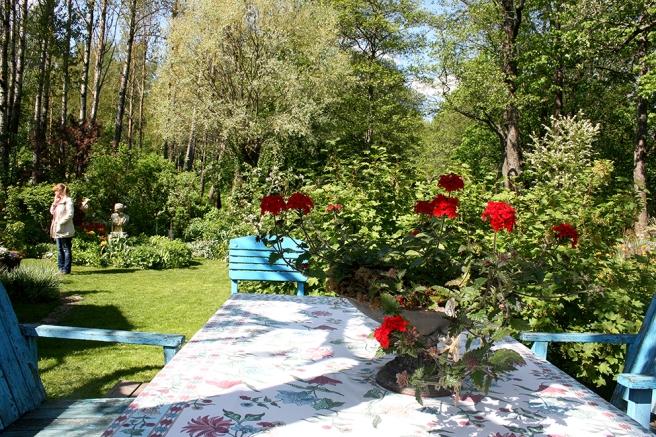 Vi har många vackra trädgårdar i Lovisa. Konungsdammen är bara en av dem.