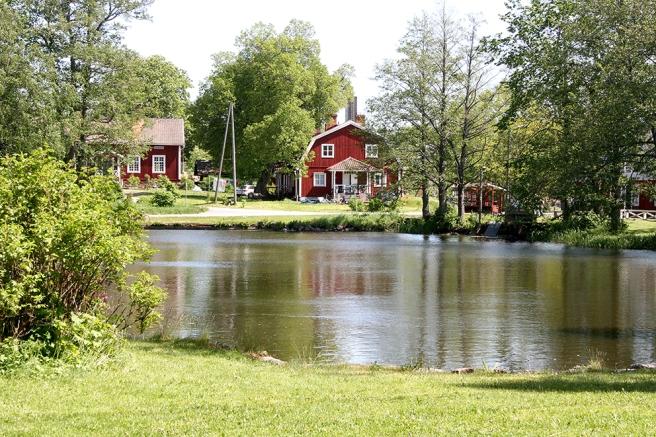 Strömfors bruk, en idyllisk miljö som ligger knappt två mil öster om Lovisa.