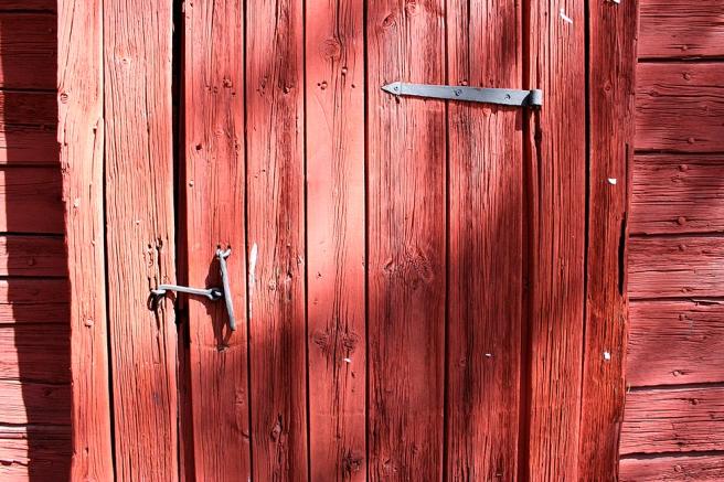 En vacker dörr.
