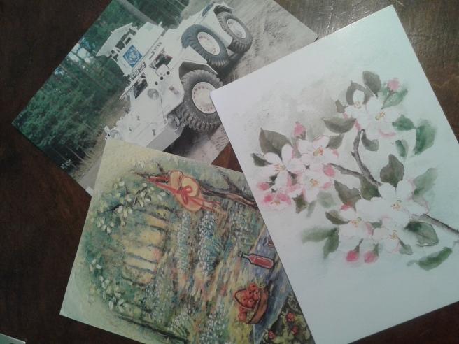 Några av de kort jag fått nyligen.