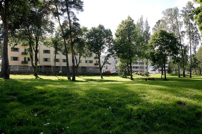 I bakgrunden Drottninggatan där jag bor, fastän mitt hus inte syns på bilden.