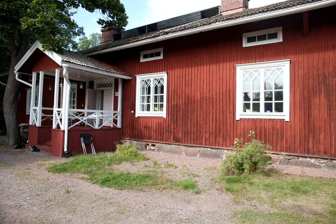 Saarnimäki på Stallbacken i Strömfors bruk.