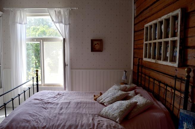 Romantiskt sovrum.