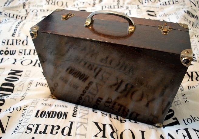En liten resväska? :-)