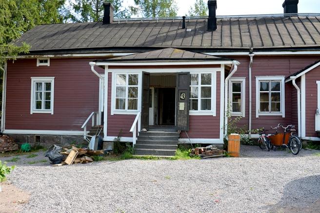Objekt nummer 43, Storskrapis, är inte med första gången men ägarna till huset är nya. De har åtagit sig ett jätteprojekt med att renovera huset.