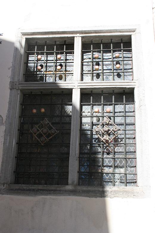 Fönster i Tallinn.